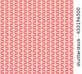 seamless pattern with symmetric ... | Shutterstock .eps vector #433196500