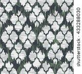 unusual spots pattern seamless... | Shutterstock .eps vector #433288030
