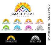 real estate vector logo design  ... | Shutterstock .eps vector #433364470
