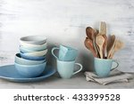 Simple Rustic Handmade Blue...