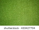 artificial grass background | Shutterstock . vector #433427704