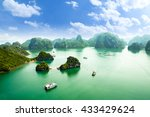 Halong Bay In Vietnam. Unesco...