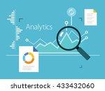 analytics metrics | Shutterstock .eps vector #433432060