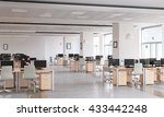 elegant office interior | Shutterstock . vector #433442248