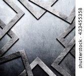 metal background | Shutterstock . vector #433455358
