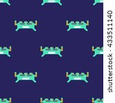 monster pattern seamless game...