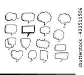 comic speech bubble... | Shutterstock .eps vector #433511506