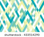 abstract geometric seamless... | Shutterstock .eps vector #433514290