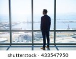 full length rearview of a young ... | Shutterstock . vector #433547950