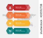 business infographics template. ...   Shutterstock .eps vector #433552738