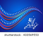 vector illustration of happy...   Shutterstock .eps vector #433569553