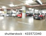 blur parking with cars | Shutterstock . vector #433572340