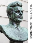 A Bust Of Former President Of...