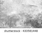 wall fragment with scratches... | Shutterstock . vector #433581448