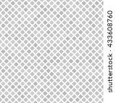diamond pattern. seamless vector | Shutterstock .eps vector #433608760