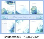 set of backgrounds for book... | Shutterstock . vector #433619524
