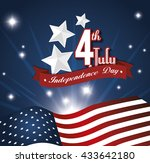 independence day design  | Shutterstock .eps vector #433642180