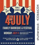 Retro 4th Of July Grunge Flyer...