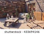 Loft Garden Design Of Veranda