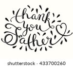 greeting card template for... | Shutterstock .eps vector #433700260