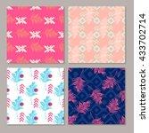 geometric fashion prints set...   Shutterstock .eps vector #433702714