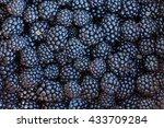 Berries Blackberries Closeup