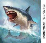 shark | Shutterstock . vector #433739413