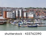 cowes  isle of wight | Shutterstock . vector #433762390