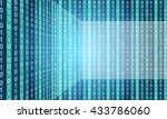 vector abstract background with ... | Shutterstock .eps vector #433786060