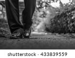 alone concept  business man...   Shutterstock . vector #433839559