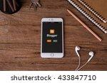 chiangmai  thailand  june 9 ... | Shutterstock . vector #433847710