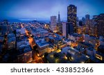 aerial view of san francisco... | Shutterstock . vector #433852366