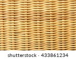 Bamboo Weaving Background
