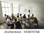 design team meeting... | Shutterstock . vector #433870768