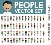 diversity community people flat ... | Shutterstock .eps vector #433872154