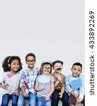 Children Friendship Togetherness Playful Happiness - Fine Art prints