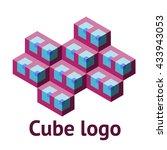 cube logo | Shutterstock .eps vector #433943053