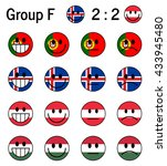 group f  euro 2016  football... | Shutterstock .eps vector #433945480