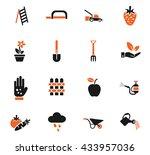 gardening web icons for user... | Shutterstock .eps vector #433957036
