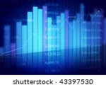 stock market charts   Shutterstock . vector #43397530