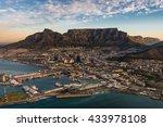 table mountain sunset | Shutterstock . vector #433978108