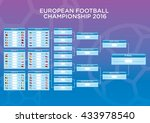 european football   soccer... | Shutterstock .eps vector #433978540