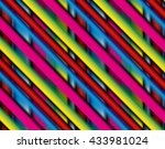 colorful striped abstract... | Shutterstock . vector #433981024