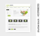 eco flat simple website design  ...