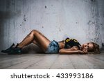 young sexy woman   Shutterstock . vector #433993186