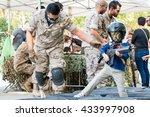 madrid  spain   september 21 ... | Shutterstock . vector #433997908