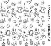 ied pattern | Shutterstock .eps vector #433999279