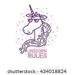 vector illustration of head of... | Shutterstock .eps vector #434018824