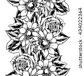 abstract elegance seamless... | Shutterstock . vector #434022364