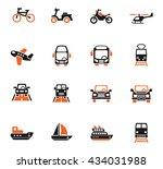 transport web icons for user...   Shutterstock .eps vector #434031988